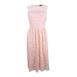 Jessica Simpson Women's Lace Dress (6, Blush) - Blush - 6