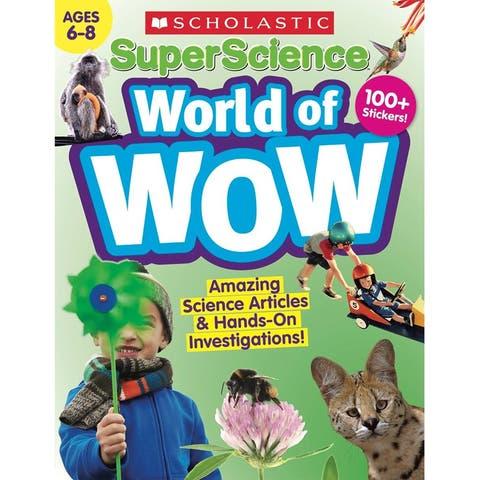 Scholastic (2 ea) super science world of wow 832985bn