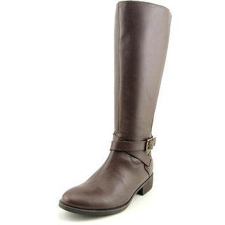 Matisse Destry Women Round Toe Leather Brown Knee High Boot