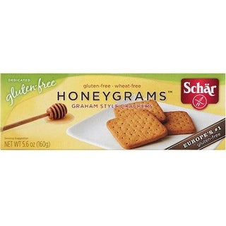 Schar - Honey Grahams ( 12 - 5.6 oz boxes)