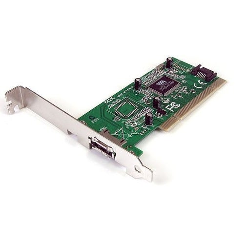 Startech - Pciesata2i 1Port Esata + 1Port Sata Pcinsata Controller Card W/ Lp Bracket