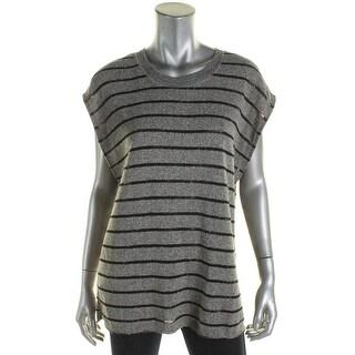 IRO Womens Casual Top Striped Sleeveless - l