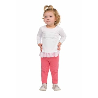 Pulla Bulla Baby Girl Leggings Color Stretch Pants