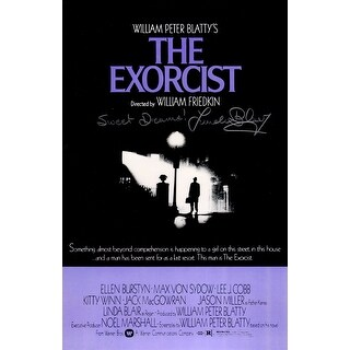 Linda Blair The Exorcist 11x17 Movie Poster wSweet Dreams