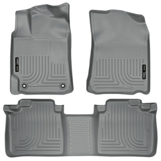 Husky Weatherbeater 2012-2016 Toyota Camry Grey Front & Rear Floor Mats/Liners