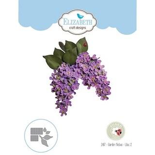 Garden Notes-Lilac 2 - Elizabeth Craft Metal Die By Susan's Garden Club