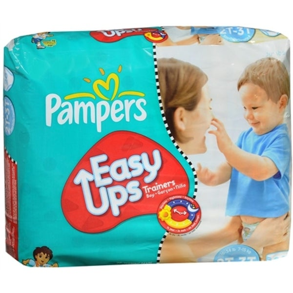 Pampers Easy Ups Training Pants Boys 26 Each [4 packs per case]
