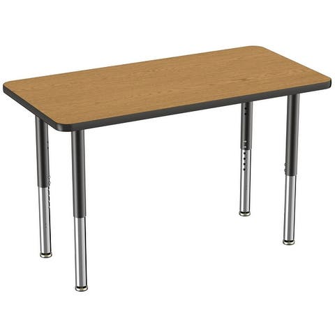 """24"""" x 48"""" Rectangle Activity Table with Adjustable Mobile Super Legs"""