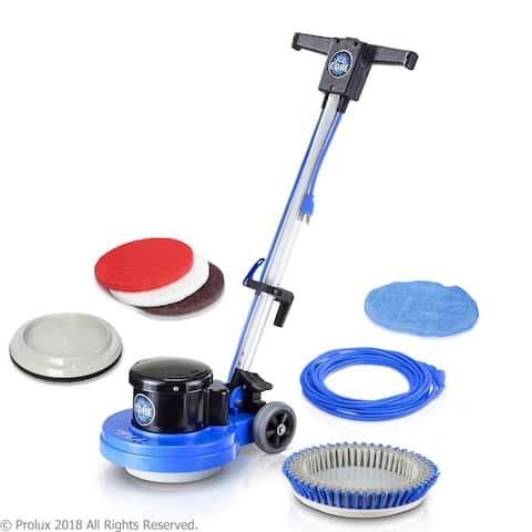 Prolux Core Heavy-Duty Commercial Floor Buffer & Scrubber LOADED - Blue - 31x15