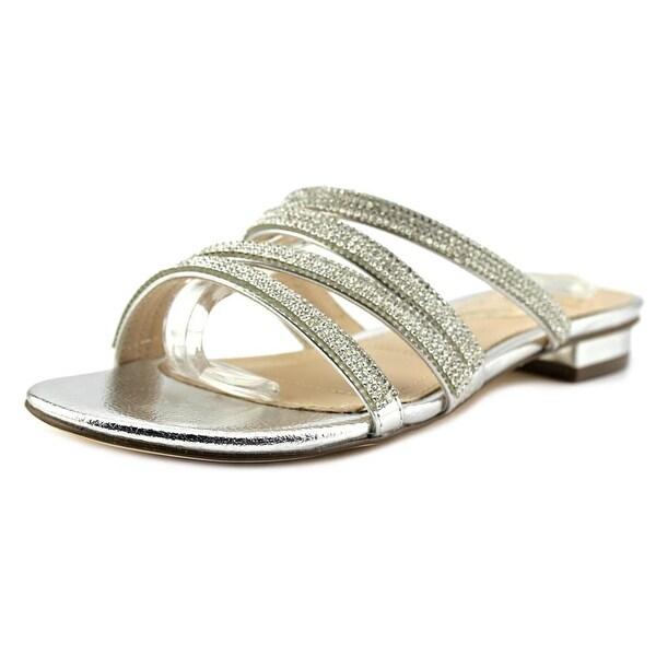 Nina KAISA-YY Women Silver Met Sandals