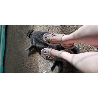 Skechers Women's On the GO 600 Brilliancy Ankle Strap Sandal Natural