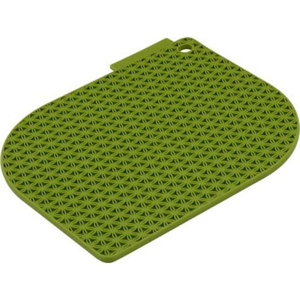Charles Viancin 1702 Honeycomb Pot Holder, Green Bamboo