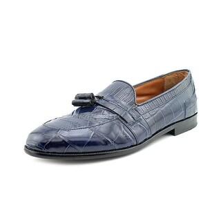 Stacy Adams Sabola Men  Apron Toe Leather Blue Loafer