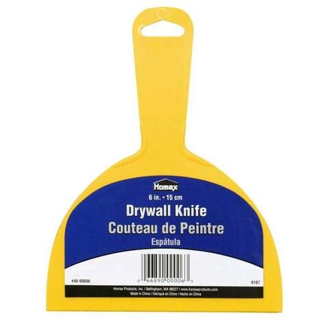 "Homax 40-00006 Drywall Knife 6"""