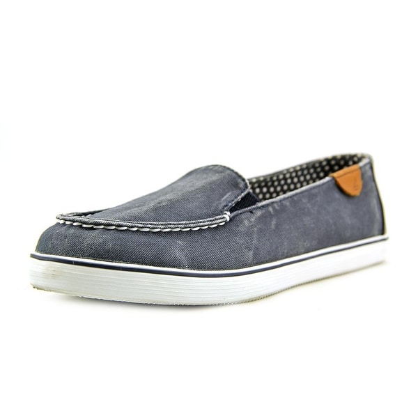 Sperry Top Sider Zuma Women Moc Toe Canvas Blue Loafer