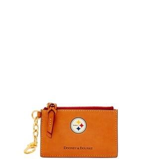 Dooney & Bourke NFL Pittsburgh Steelers Zip Top Card Case (Introduced by Dooney & Bourke at $88 in Jul 2018)