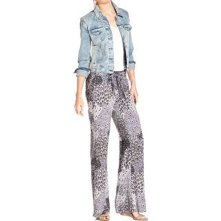 Jessica Simpson Womens Juniors Wide Leg Pants Paisley Palazzo - XS