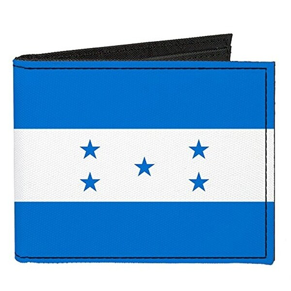 Buckle-Down Canvas Bi-fold Wallet - Honduras Flag Accessory