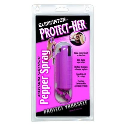 PSP Max Strength Pepper Spray Keychain