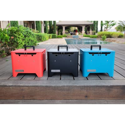 Permasteel Portable Square Charcoal Grill