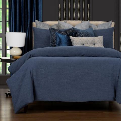 F Scott Fitzgerald Biloxi Blue Supreme Duvet Cover & Insert set