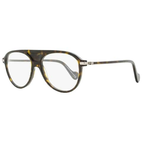 Moncler ML5033 052 Mens Dark Havana 55 mm Eyeglasses - Dark Havana