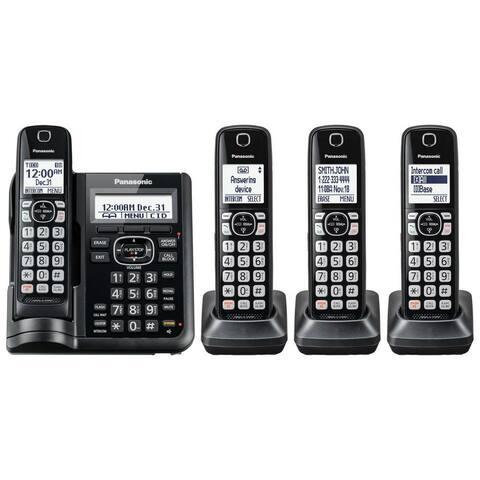 Panasonic KX-TGF544B Cordless Phone With Handset- 4 Handsets