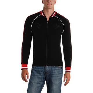ab7be4f0728 Polo Ralph Lauren Mens Track Jacket Embroidered Contrast Trim - XS