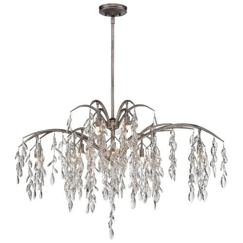n6869278 12 light 2 tier mini crystal chandelier from the bella flora collection