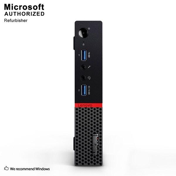 Lenovo M710Q Tiny, Intel i7-6700T 2.8GHz, 8GB DDR3, 240GB SSD, WIFI, BT 4.0, HDMI,, W10P64 (EN/ES)-Refurbished