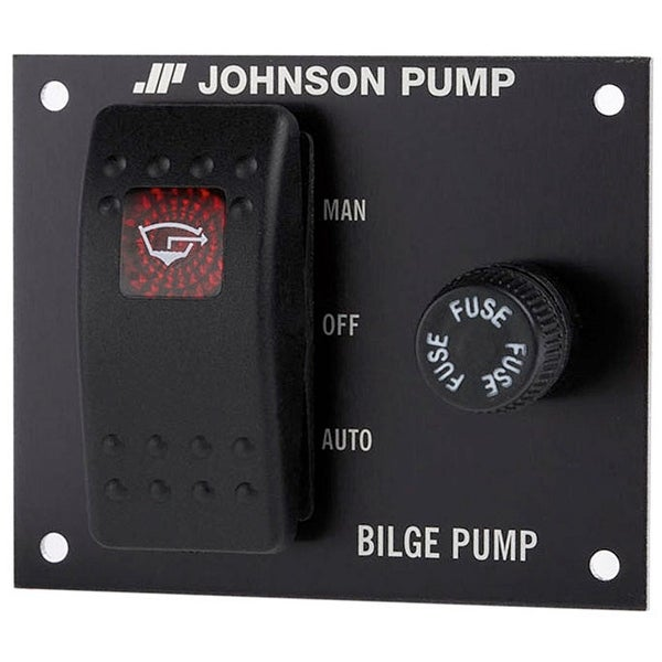 Bilge Pump 3-Way Panel Switch, 12V