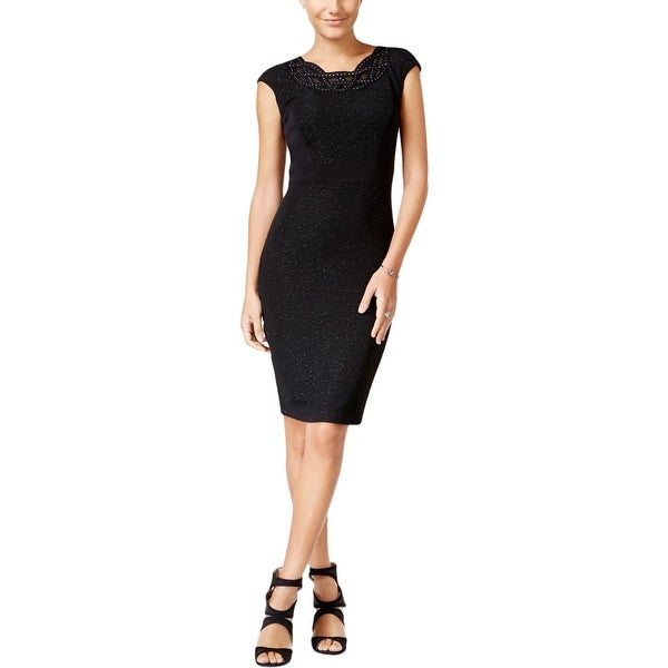 d32f17a9ac Shop Jax Womens Cocktail Dress Shimmer Sheath - Free Shipping On Orders  Over  45 - Overstock - 17879350