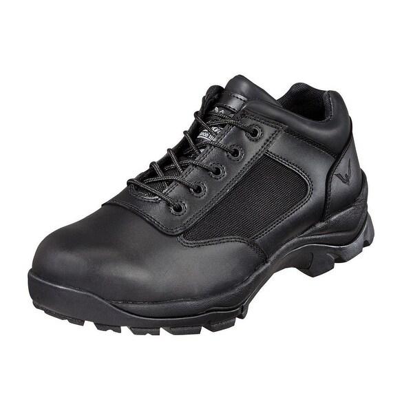 Thorogood Work Shoes Mens Oxford Uniform Leather Nylon Black 834-6042