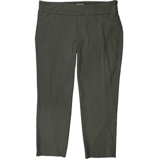 Link to Charter Club Womens Pull-On Casual Trouser Pants, green, 22W Similar Items in Pants