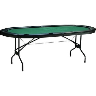 Triumph Sports Gambler Folding Poker Table With Padded Felt Surface /  46 2015