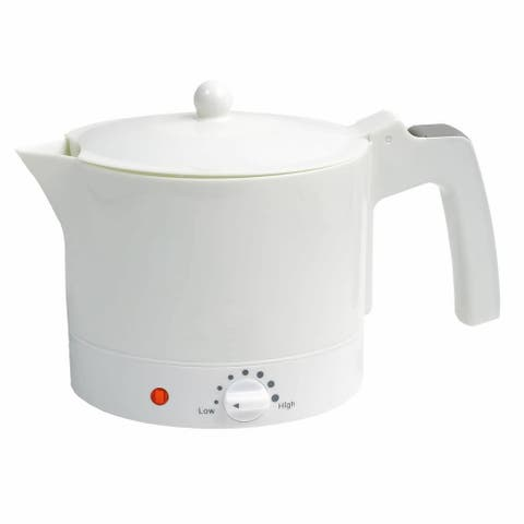 Quick-Boil 1.0 L / 32 oz. Electric Kettle with Adjustable Temperature Setting