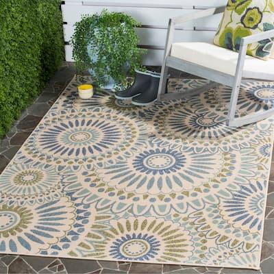 SAFAVIEH Veranda Sissy Indoor/ Outdoor Patio Backyard Rug