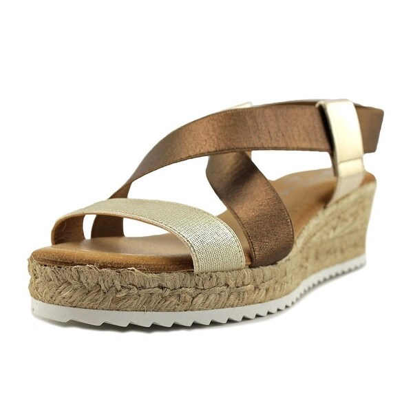 Eric Michael Sarah Women Gold/Bronze Sandals