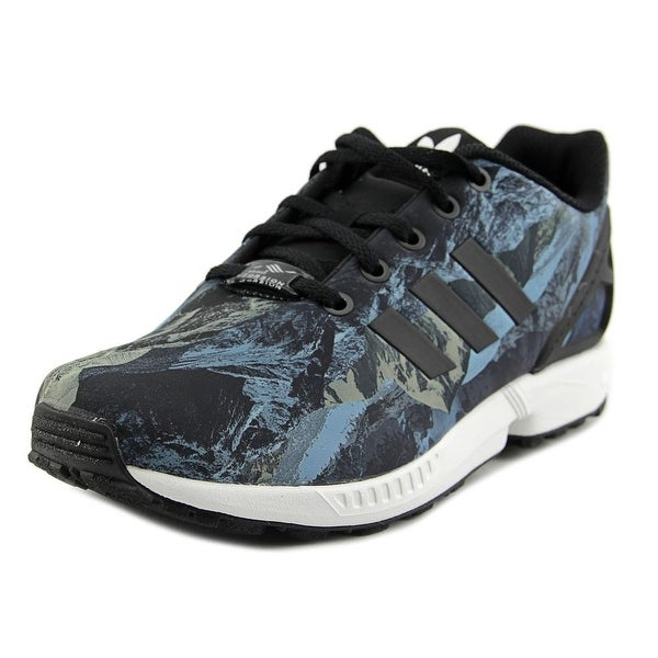 Shop Adidas Zx Flux Boy Black Black White Athletic Shoes - Free ... e4af9a4e7