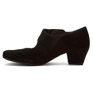 ARA Womens Oriana Suede Solid Mary Jane Heels - 5.5 medium (b,m)