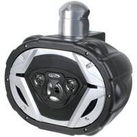 """BOSS AUDIO MRWT69 6"""" x 9"""" 550-Watt 4-Way Marine Wake Tower Speaker System (Black)"""