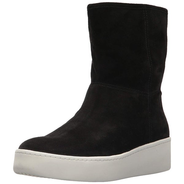 664a2934785 Shop Via Spiga Womens Elona Suede Almond Toe Ankle Cold Weather ...
