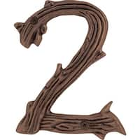Atlas Homewares TN2L Twig Collection House Address Number 2 - N/A