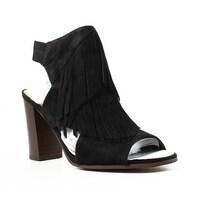 6ebc69061918 Shop Sam Edelman Womens Stanley Black Suede Heels Size 5 - On Sale ...