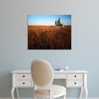 Easy Art Prints Charles Gurche's 'Castle Rock' Premium Canvas Art