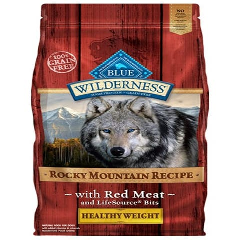 Blue Buffalo Dog Wilderness Rocky Mountain Red Healthy Weight 22 Lbs. - 22 lbs
