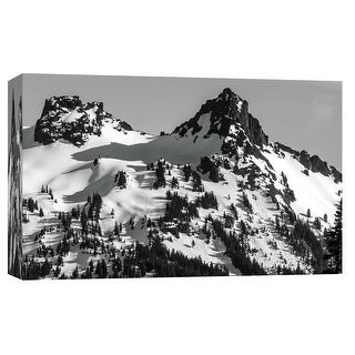 """PTM Images 9-101735  PTM Canvas Collection 8"""" x 10"""" - """"Pinnacle Peak"""" Giclee Mountains Art Print on Canvas"""