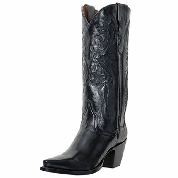 6ddf636117d Dan Post Fashion Boots Womens Maria Leather Black Napalino