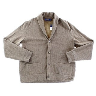 Polo Ralph Lauren NEW Brown Mens Size XL Button Down Cardigan Sweater