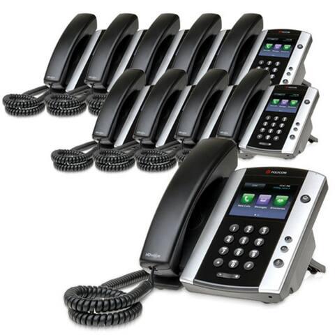 Polycom VVX 501 (2200-48500-025) (10-pack) VVX 501 12-line Business Media Phone